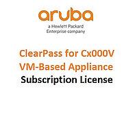 Лицензия ПО HP Enterprise/Aruba ClearPass Cx000V VM Appliance E-LTU