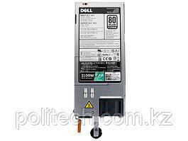 Источник питания Dell/Single, Hot-plug Power Supply (1+0), 1100W,CusKit/13G
