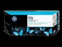 Картридж HP Europe/CN632A/Струйный широкоформатный/голубой и светло голубой/№772/300 мл/
