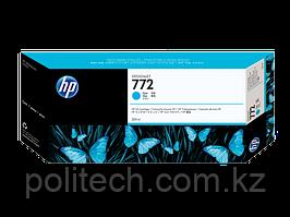 Картридж HP Europe/CN636A/Струйный широкоформатный/голубой/№772/300 мл/