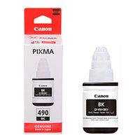 Чернила Canon, INK GI-490 BK, Струйный, №490, черный, 135 мл