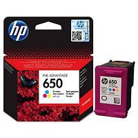 Картридж HP Europe, CZ102AE, Струйный, №650, трехцветный