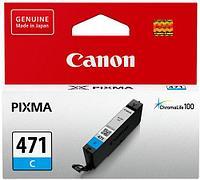 Чернила Canon, CLI-471 C, Струйный, голубой, 7 мл