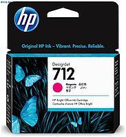 Картридж HP Europe, DesignJet, Струйный, №712, пурпурный, 29 мл
