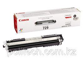 Картридж Canon, 729 B, Лазерный цветной, черный
