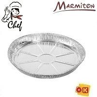 Форма для выпечки алюм. 27,5х2,5 см, MARMITON для запекания, обжарки, хранения и замораживания продуктов