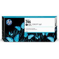 Картридж HP Europe, P2V82A, Струйный широкоформатный, фото черный, №746, 300 мл