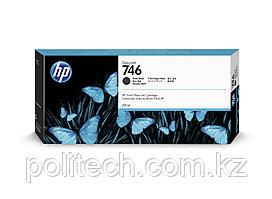 Картридж HP Europe, P2V83A, Струйный широкоформатный, матовый черный, №746, 300 мл