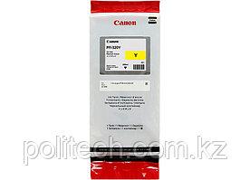 Картридж Canon, PFI-320 Y, Струйный, желтый, №320, 300 мл