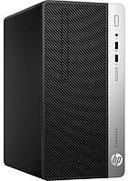 Компьютер-комплект HP Europe, ProDesk 400 G6, MT, Core i3, 9100, 3,6 GHz, 8 Gb, 256*1000 Gb, DVD+, -RW,