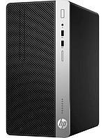 Компьютер HP Europe, ProDesk 400 G6, MT, Core i5, 9500, 3 GHz, 8 Gb, 256*2000 Gb, DVD+, -RW, Graphics, UHD