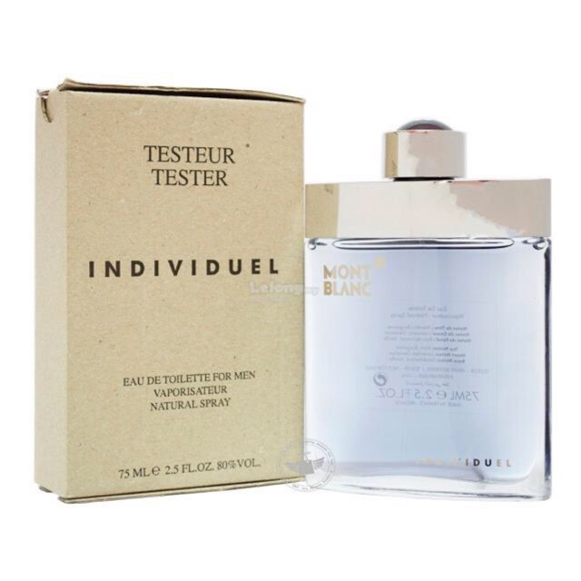 Mont Blanc Individuel Homme edt tester 75ml