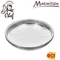 Форма для выпечки алюм.(5 шт) 27,5х2,4 см, MARMITON для запекания, обжарки, хранения и замораживания продуктов