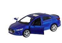 Машинка металлическая, инерционная, коллекционная модель Hyundai Elantra, 1:40, открываются две