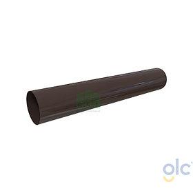 Труба 100 GLC водосточная (коричневая)
