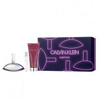 Calvin Klein Euphoria Gift Set edp 50ml+ edp 10ml + body lotion 100ml