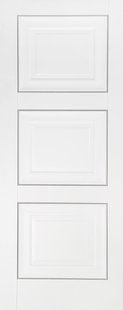 Межкомнатная дверь ДГ 63 белая