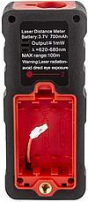 100м лазерная рулетка (цифровой угломер, расстояние, площадь, обьем, Пифагор), аккум li-ion, Bluetooth, фото 3