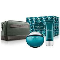 Bvlgari Aqva Pour Homme Gift Set edt 100ml + after shave 100ml + pouch