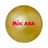 """Мяч футб. для автографов """"MIKASA GOLD SB"""", р.5, синт. кожа, клееный, золотой"""