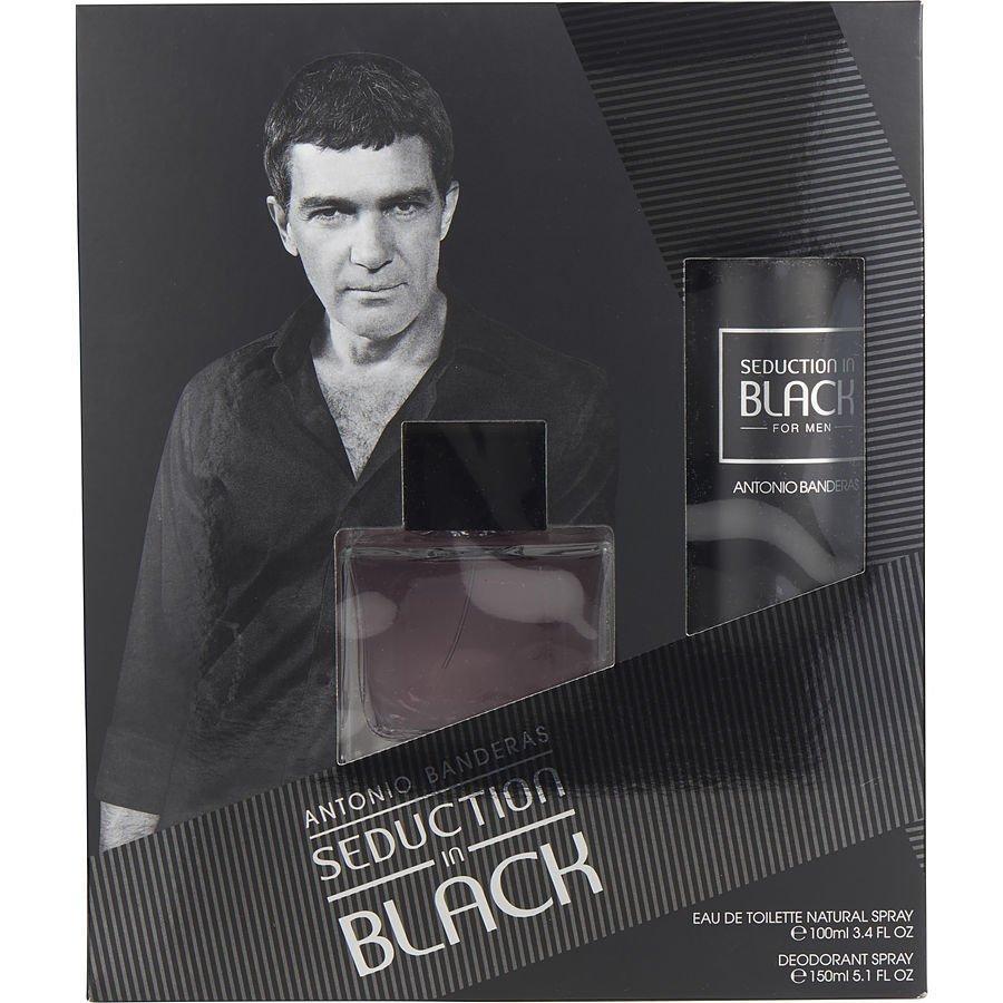Antonio Banderas Seduction in black Gift Set edt 100ml+ deodorant 150ml