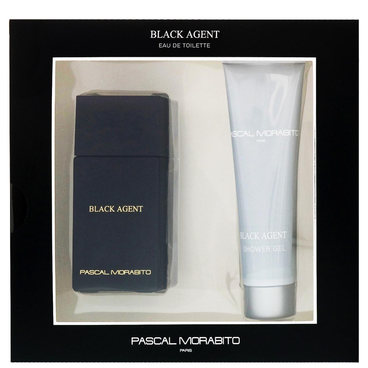 Pascal Morabito Black Agent Gift Set edt 100ml + shower gel 100ml