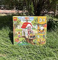 Конструктор Bela Create 11051 аналог Лего Create 3 в 1