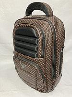 Женский подростковый рюкзак для города.Высота 34 см, ширина 32 см, глубина 15 см.