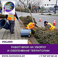 Требуются работники на уборку и озеленение территории/Польша