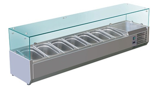 Витрина холодильная Koreco VRX1600380(395II)