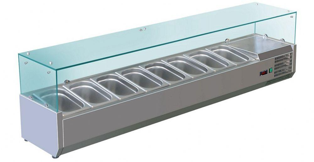 Витрина холодильная Koreco VRX1800380(395II)