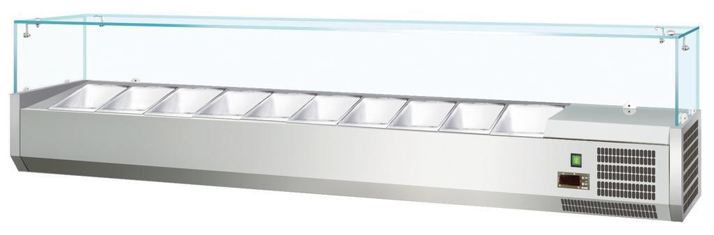 Витрина холодильная Koreco VRX2000330(335I)