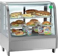 Витрина холодильная настольная Koreco RTW 100L silver