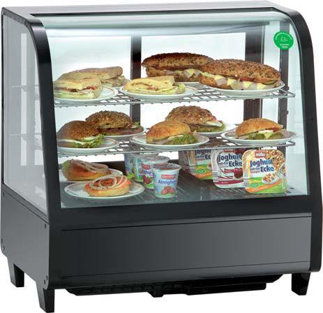 Витрина холодильная настольная Koreco RTW 100L black