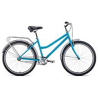 """Велосипед 26"""" Forward Barcelona 1.0, 2021, цвет бирюзовый/бежевый, размер 17"""""""