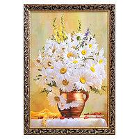 Картина 'Букет ромашек' 58х76 см