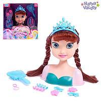 Кукла-манекен для создания причёсок 'Сказочный образ Анны'
