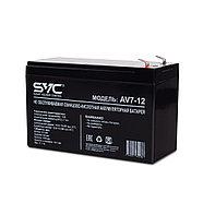 Аккумуляторная батарея SVC AV7-12 12В 7 Ач, фото 3