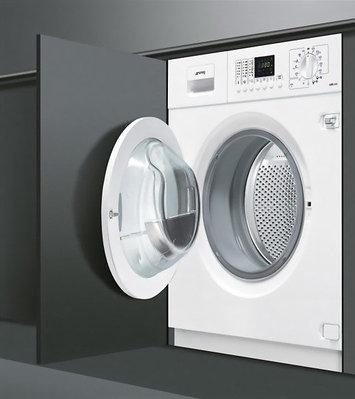 Встраиваемые стиральные машины Smeg