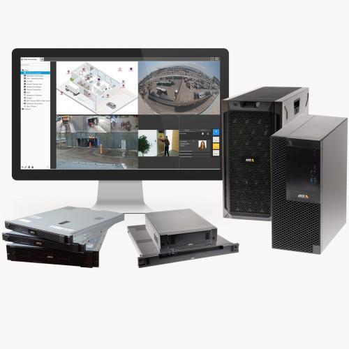 Сетевые видеорегистраторы и рабочие станции Axis