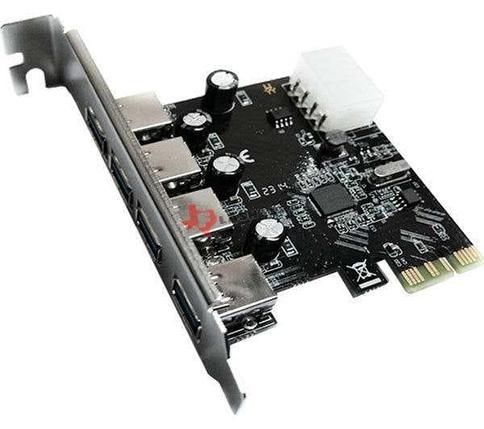 Плата PCIe USB 3.0 4 порта, фото 2