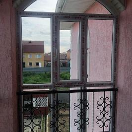 Изготовление окон для балконов, витражей