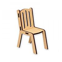 Кукольный реечный стул (мини)