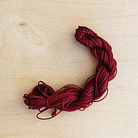 Нитка для браслета Шамбала-(бордовый)