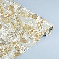Бумага упаковочная крафт Шелест, белый-бежевый, 50 см х 1 м