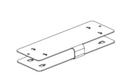 Polycom Mounting bracket for RealPresence Group 300 & 500 (Монтажный кронштейн)