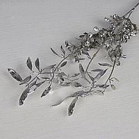 Цветы Цветущая ветвь, серебро