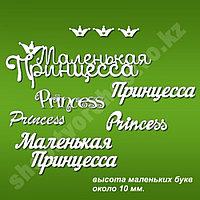 Чип-борд Набор слов-Принцесса