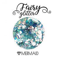 Декоративные хлопья Fairy Glitter, Mermaid, 15гр.