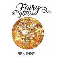 Декоративные хлопья Fairy Glitter, Sunny, 15гр.